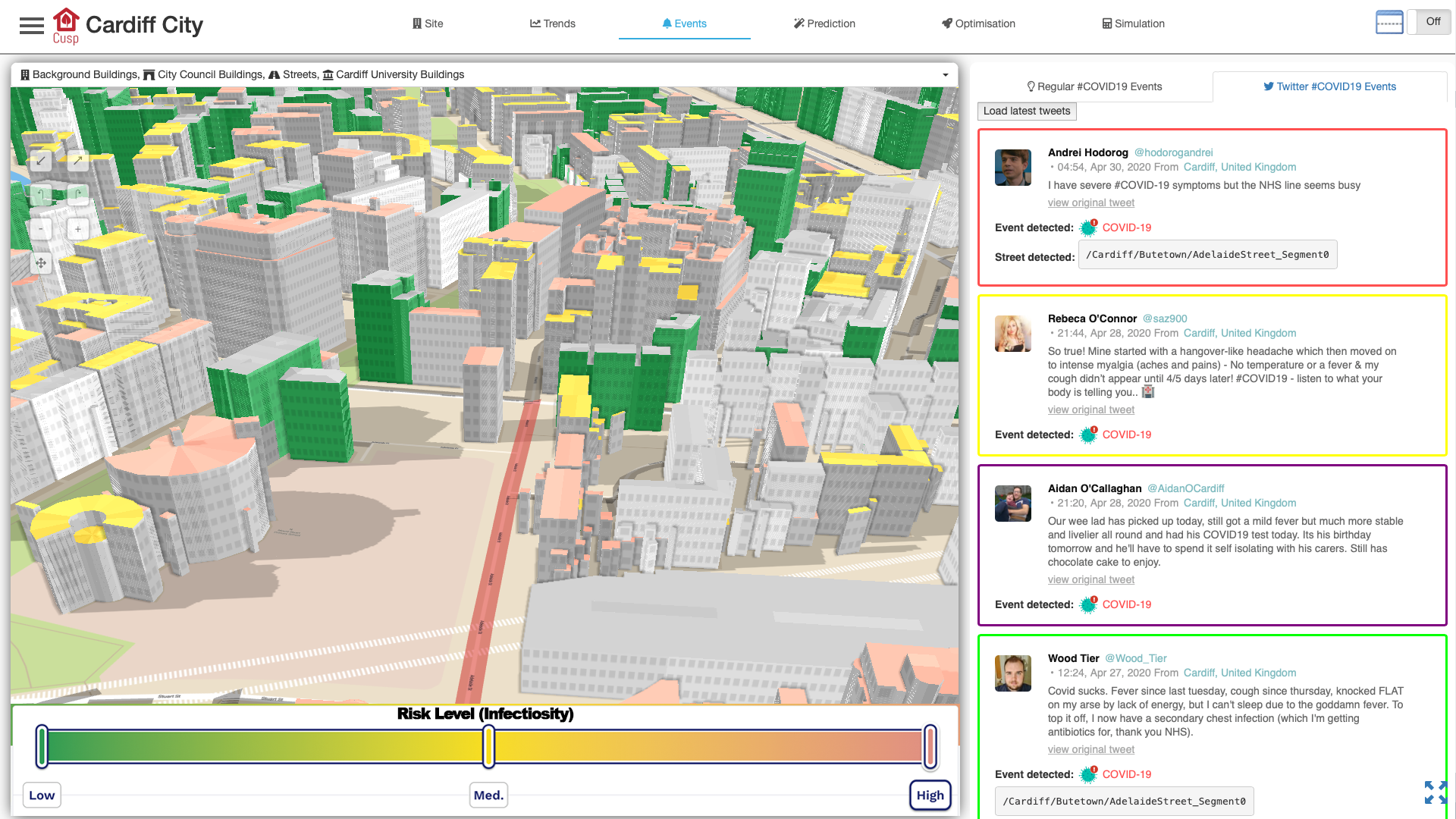 COVID-19 Smart City Case Study 1 CUSP - Smart City Solution for Cardiff and Luxembourg